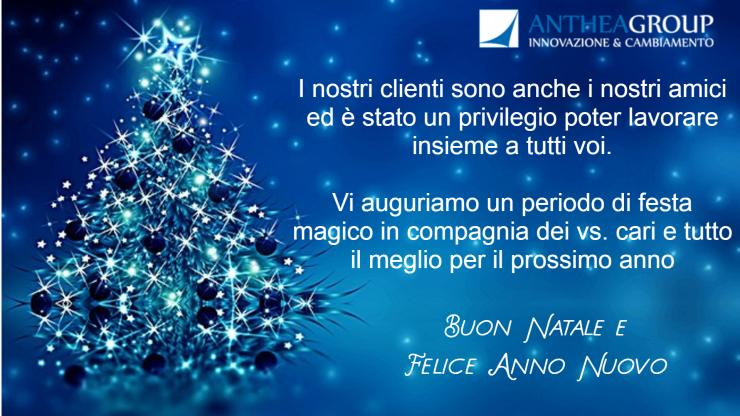 BUONE FESTE DALLO STAFF DI ANTHEA GROUP